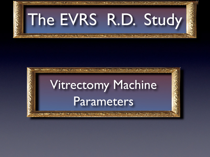 In this part, we focus on the influence of the vitrectomy machine parameters on the effective failure rate. As for the clinical findings, first a univariate analysis was performed in order to select the major explanatory variables, then bivariate analysis and finally, a multivariate analysis with a logistic regression, using a step by step method in order to get the model that fits the best the data. The results of the multivariate analysis are presented at the end of this part.