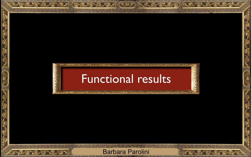 What about functional results ?