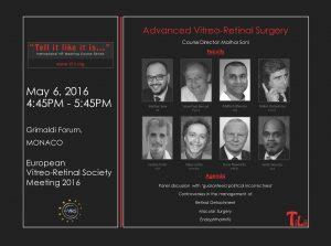 EVRS 2016_TILII_Advanced V-R Surgery